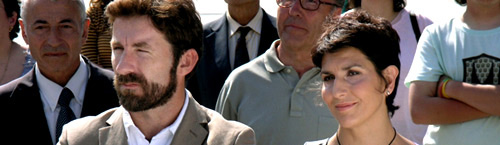 """De la Torre y Mínguez ya coincidieron en la película """"Cobardes"""""""